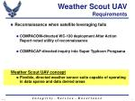 weather scout uav requirements4