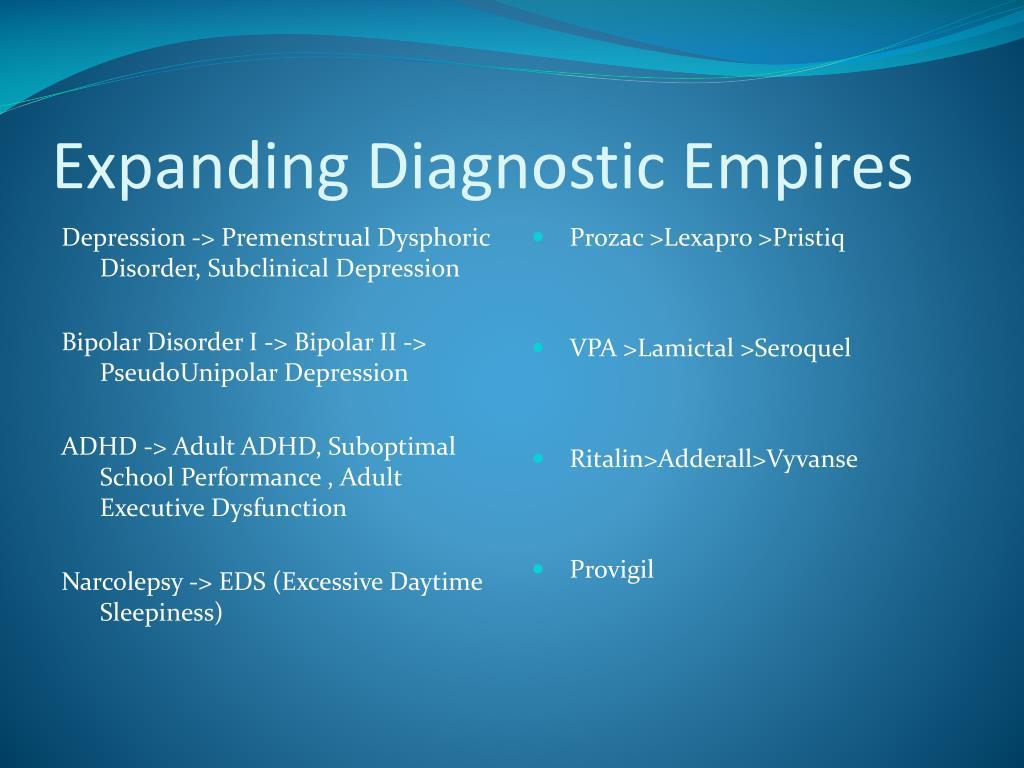 Expanding Diagnostic Empires