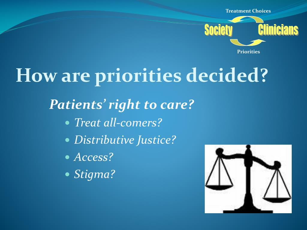 Patients' right to care?