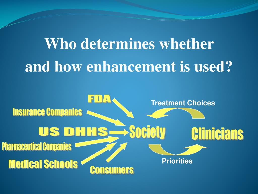 Who determines whether