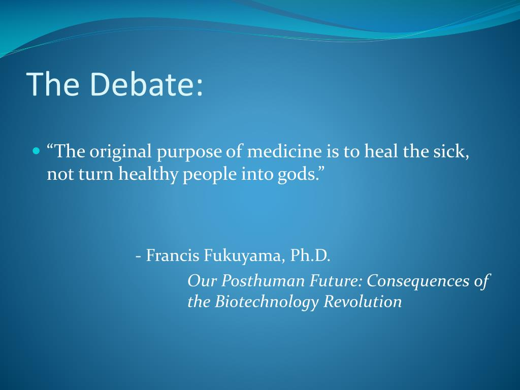 The Debate: