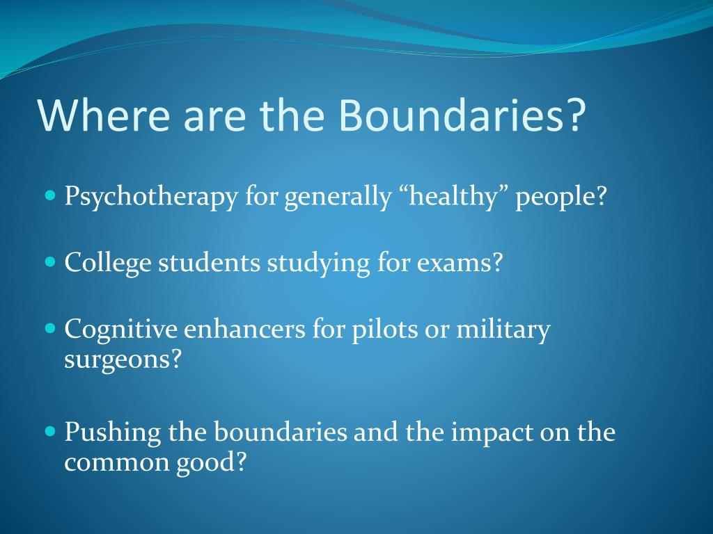 Where are the Boundaries?