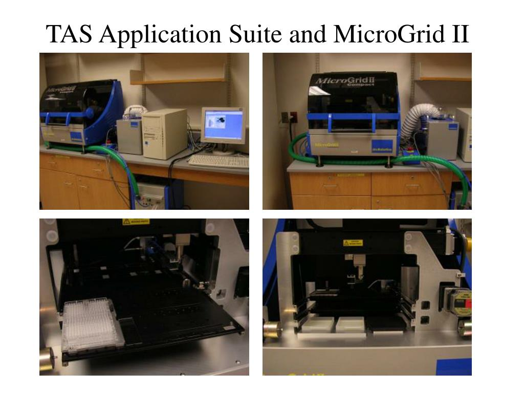 TAS Application Suite and MicroGrid II