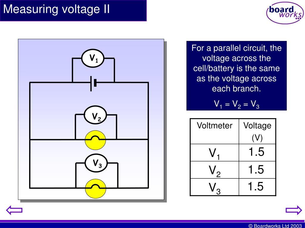 Measuring voltage II