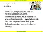 motivating students ideas for activities