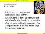 motivating students ideas for environment