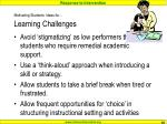 motivating students ideas for learning challenges