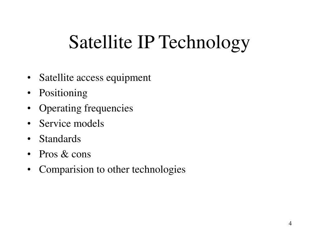 Satellite IP Technology