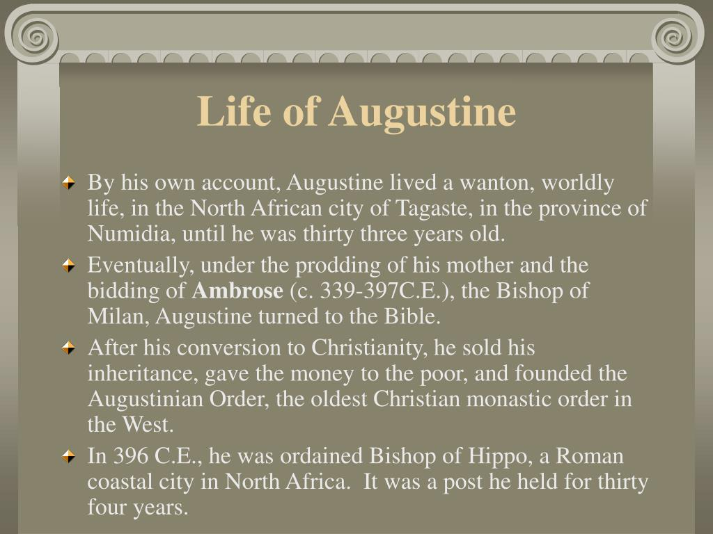 Life of Augustine