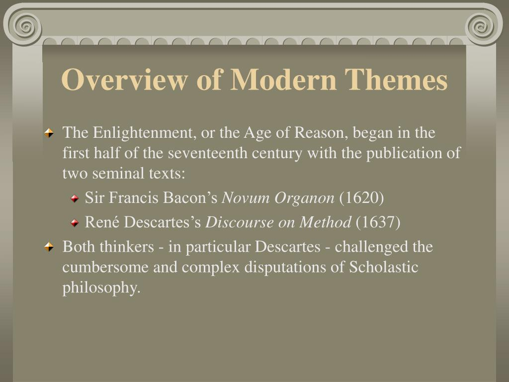 Overview of Modern Themes