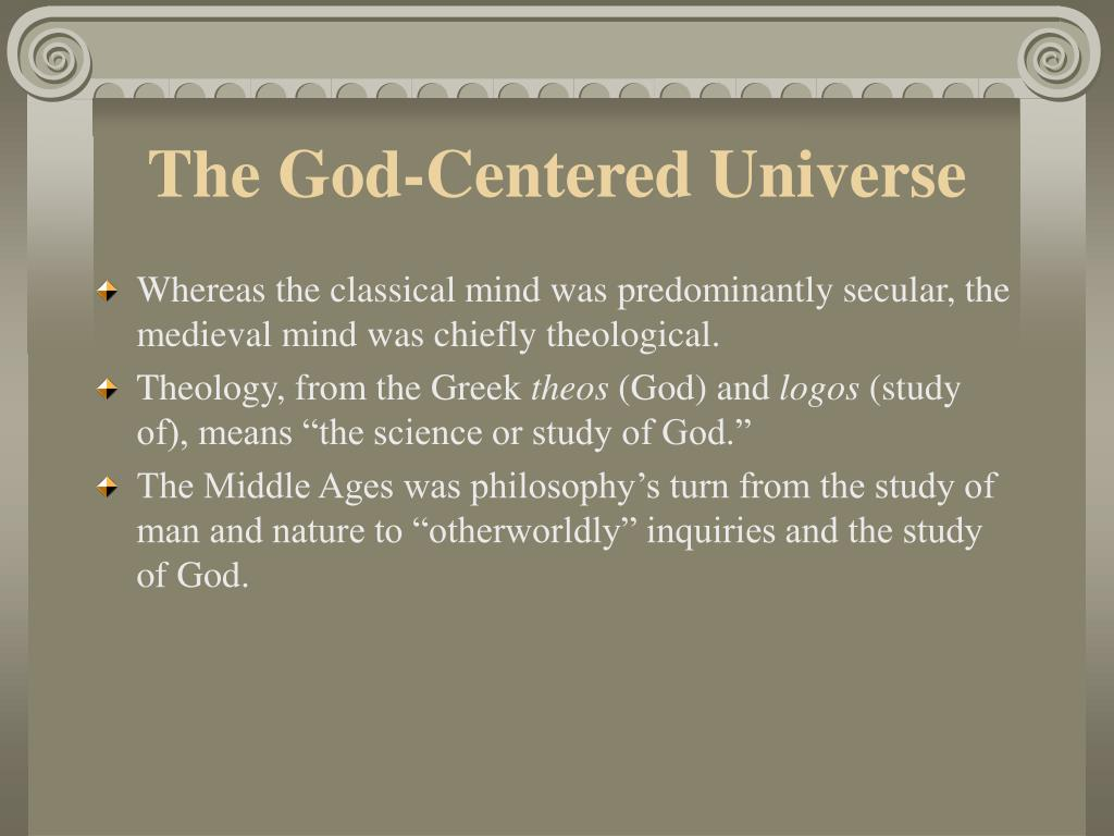 The God-Centered Universe