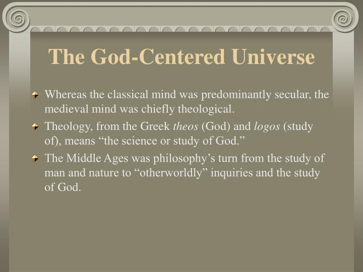 The god centered universe