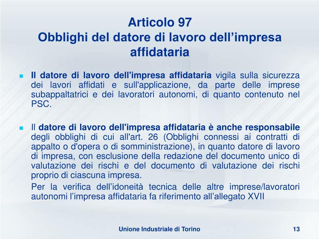 Articolo 97