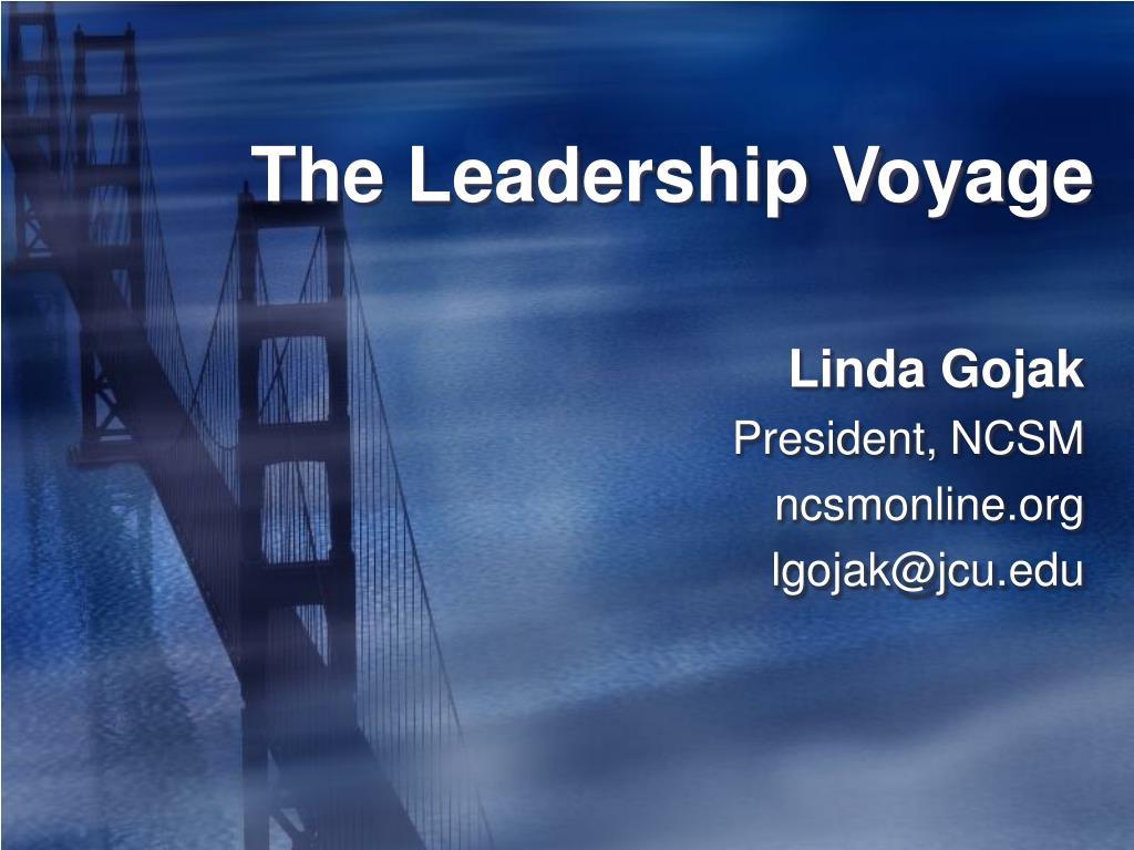 the leadership voyage l.