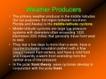 weather producers
