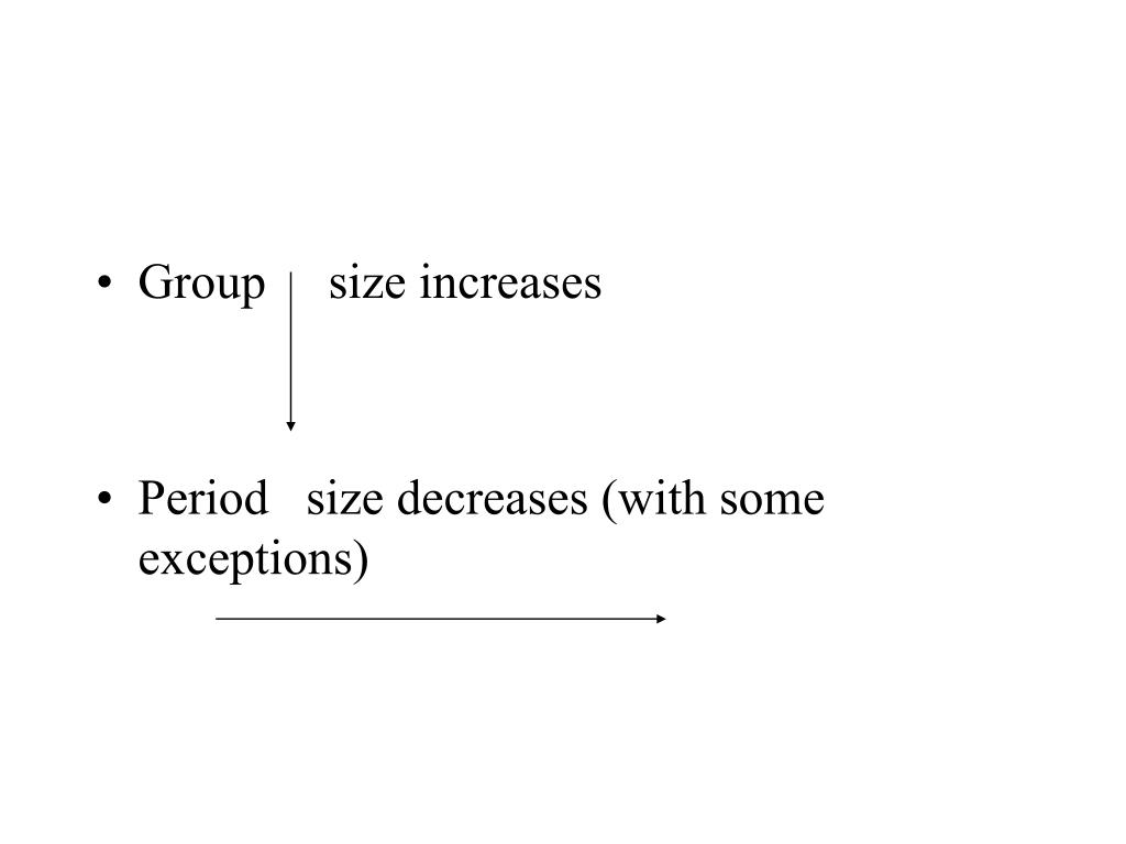 Group     size increases