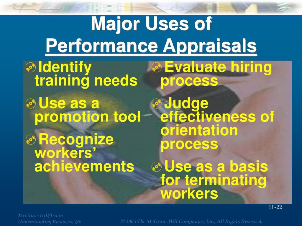 Identify training needs