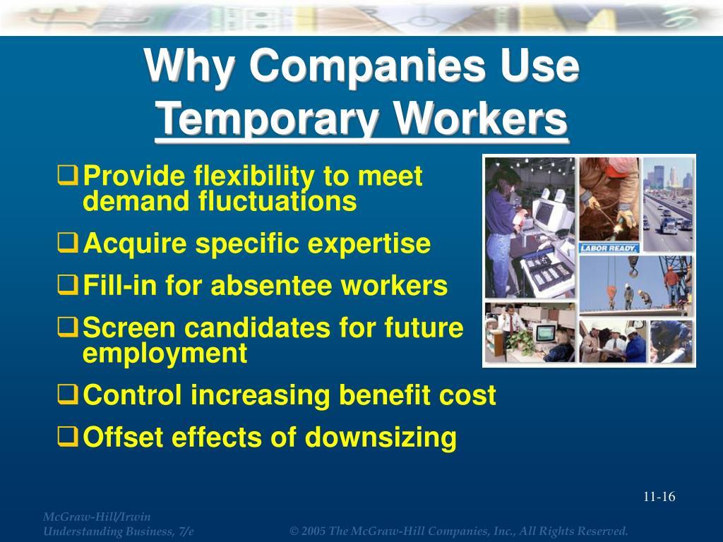 Why Companies Use