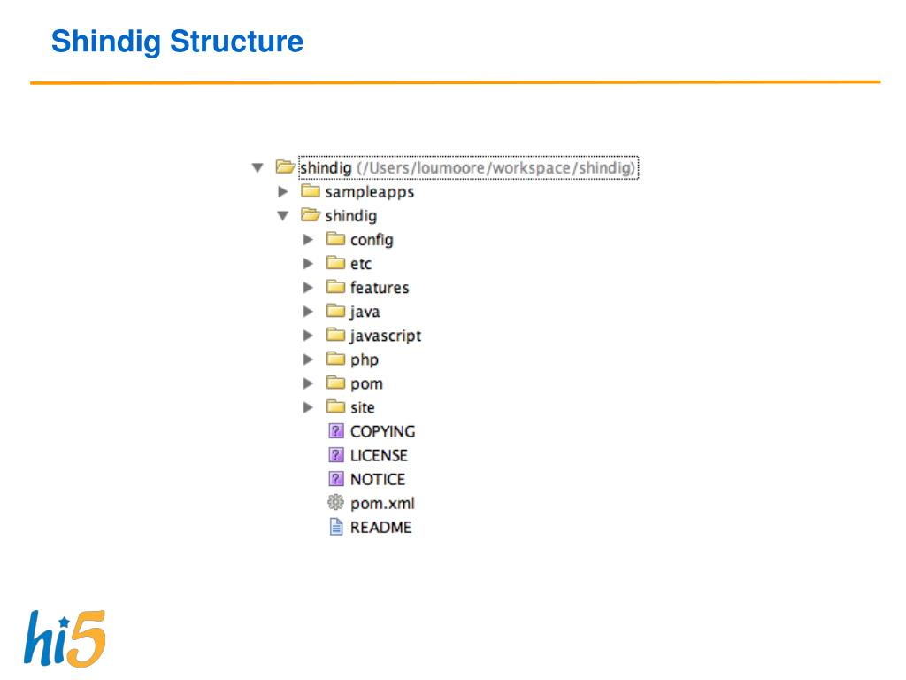Shindig Structure