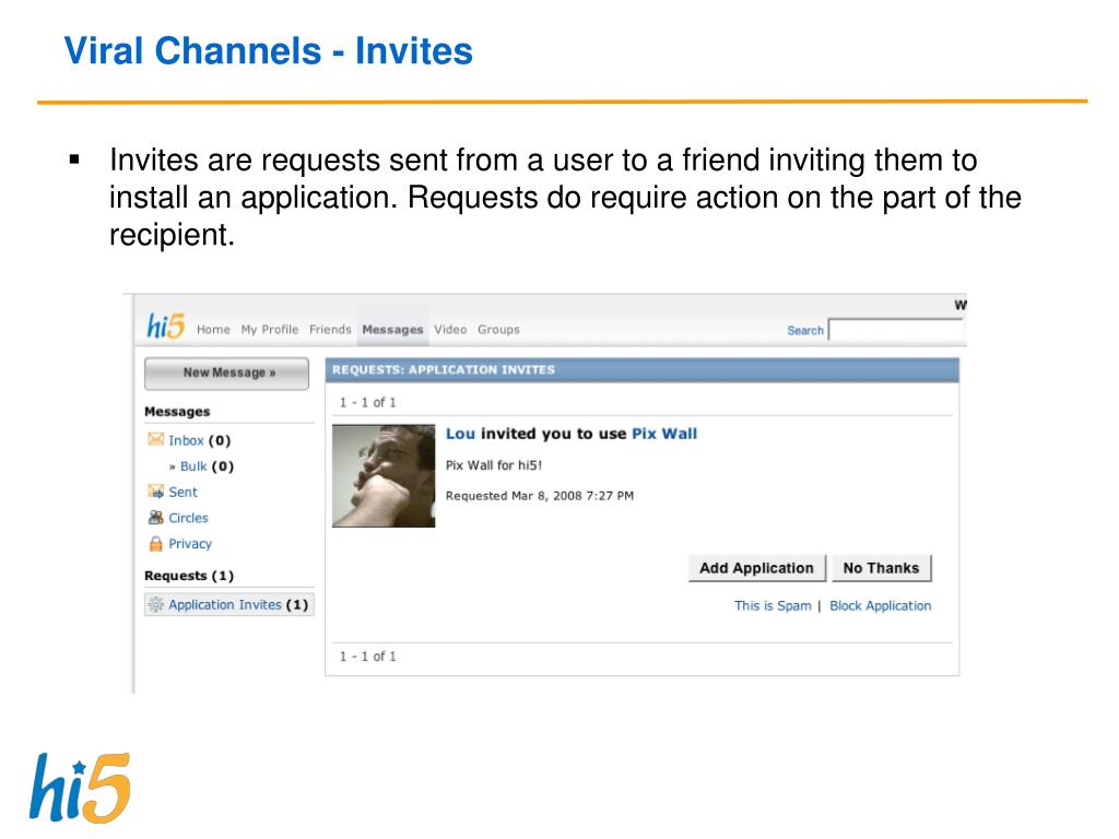 Viral Channels - Invites