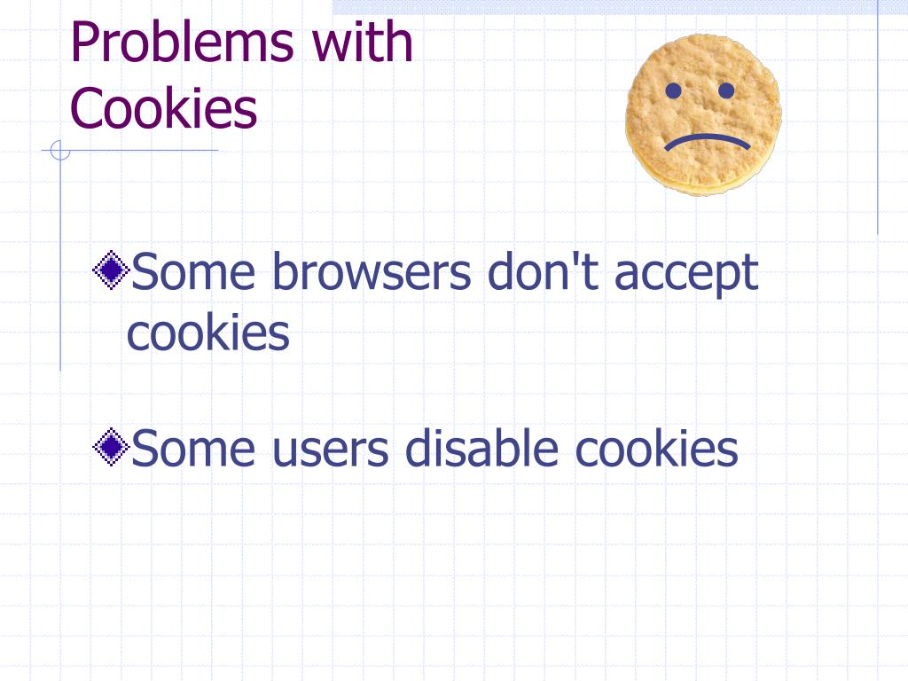 Problems with Cookies
