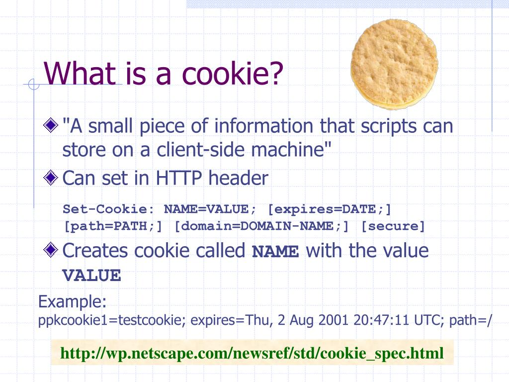 What is a cookie?