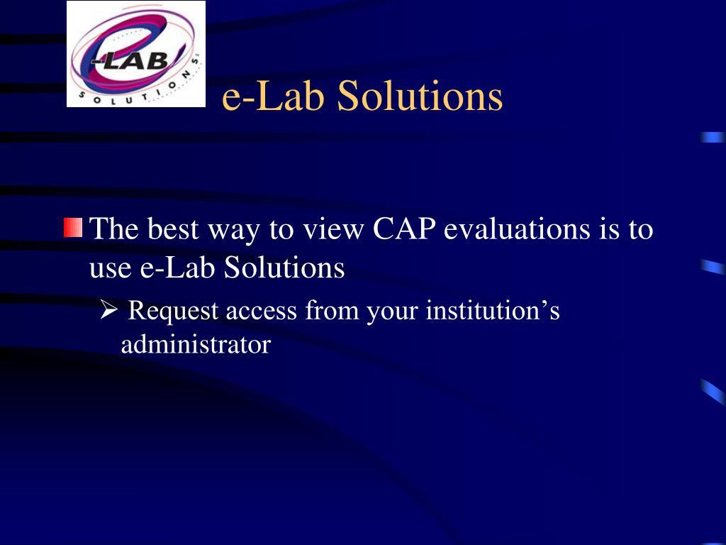 e-Lab Solutions