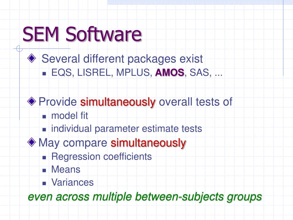 SEM Software