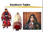 southern tajiks