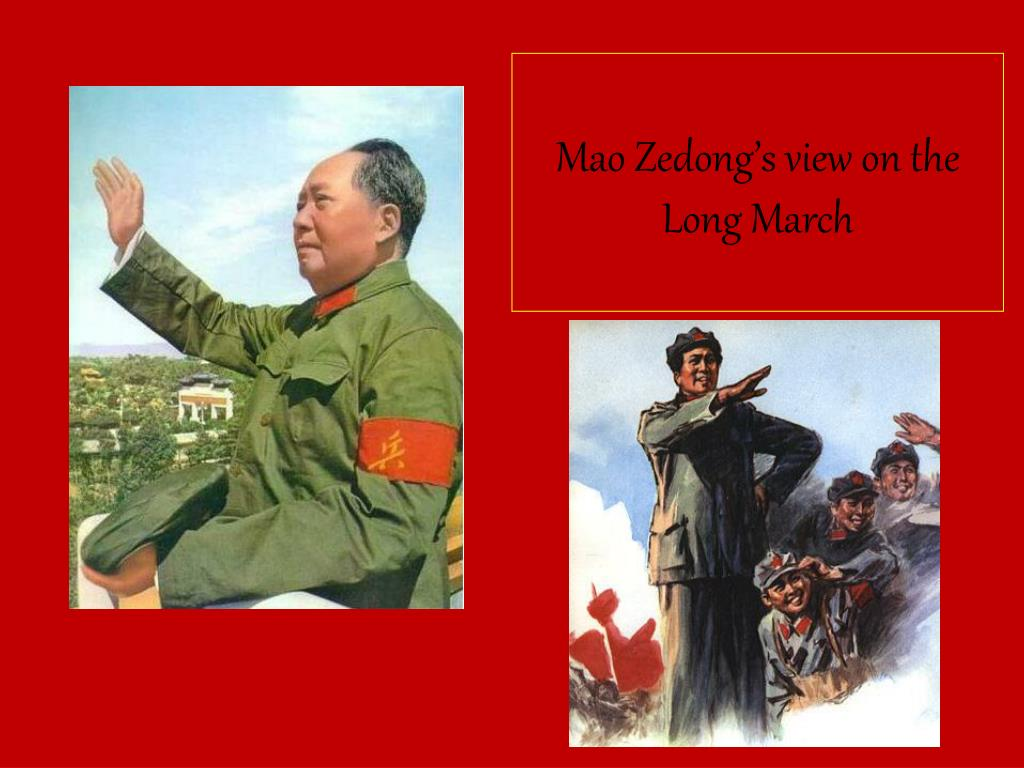 Mao Zedong's view on the Long March