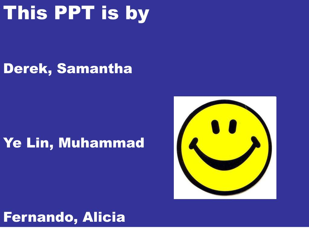 This PPT is by