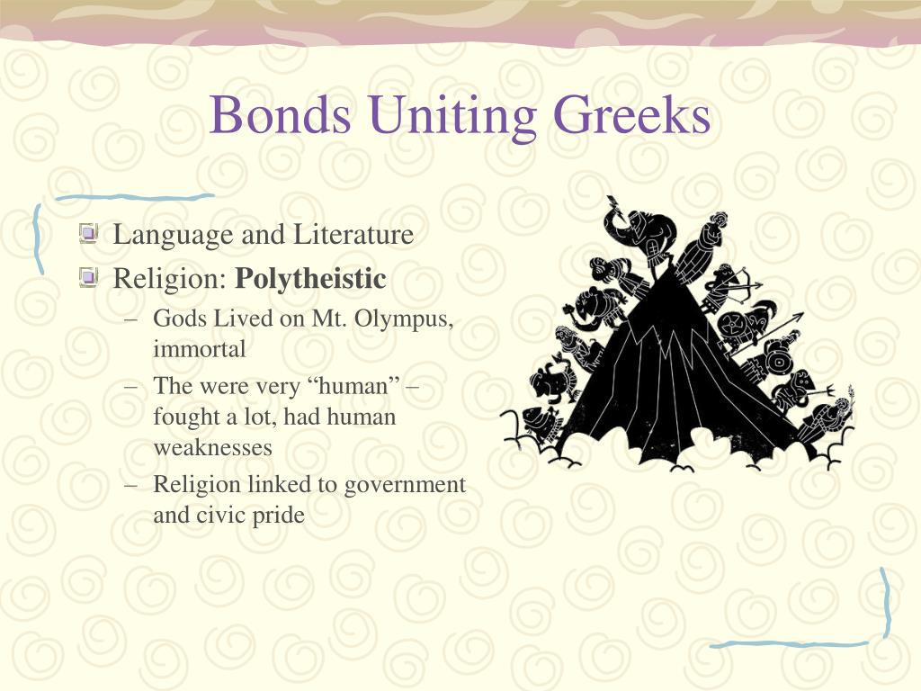 Bonds Uniting Greeks