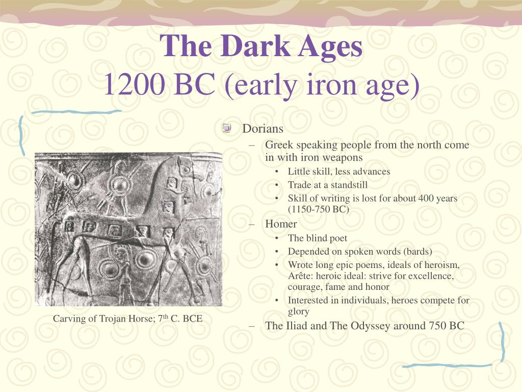 The Dark Ages