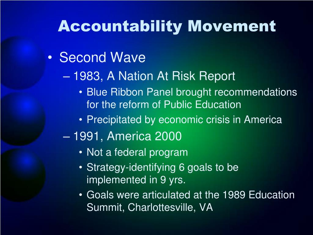 Accountability Movement
