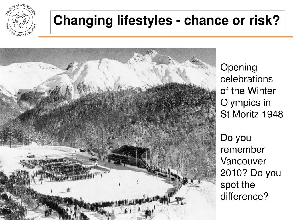 Changing lifestyles - chance or risk?