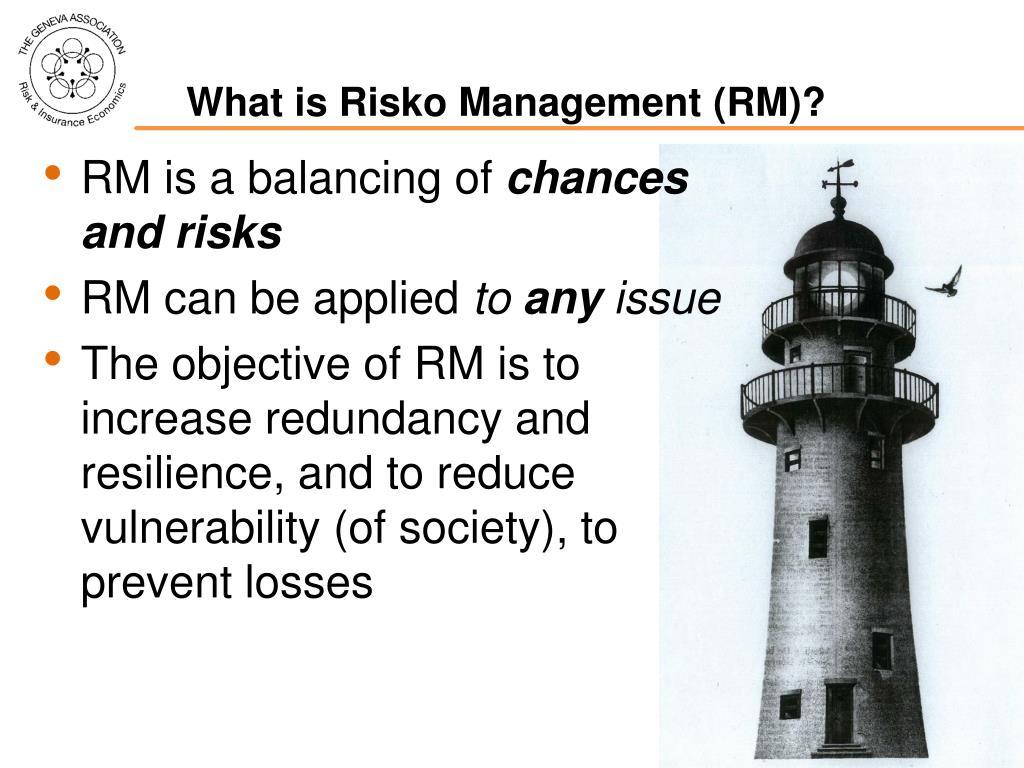 What is Risko Management (RM)?