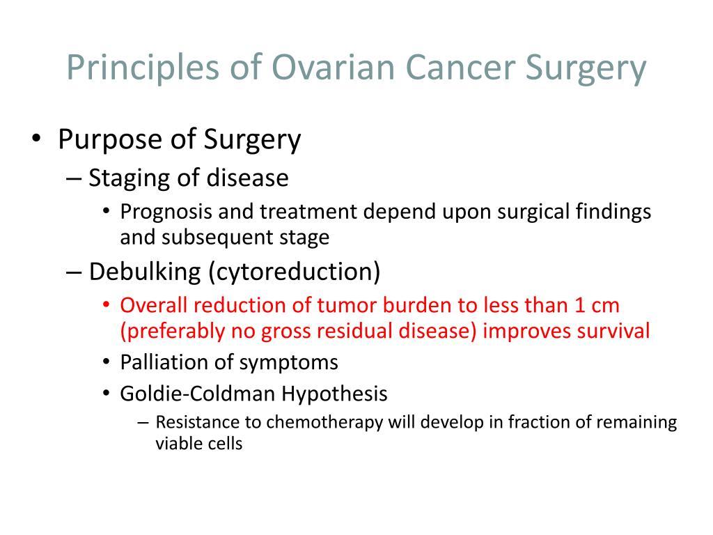 Principles of Ovarian Cancer Surgery