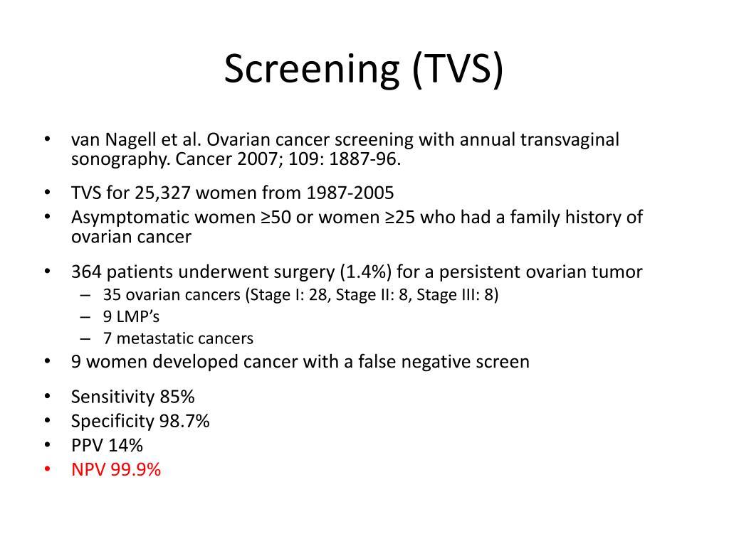 Screening (TVS)