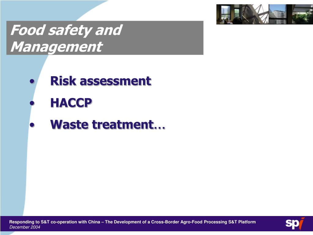 Food safety and Management