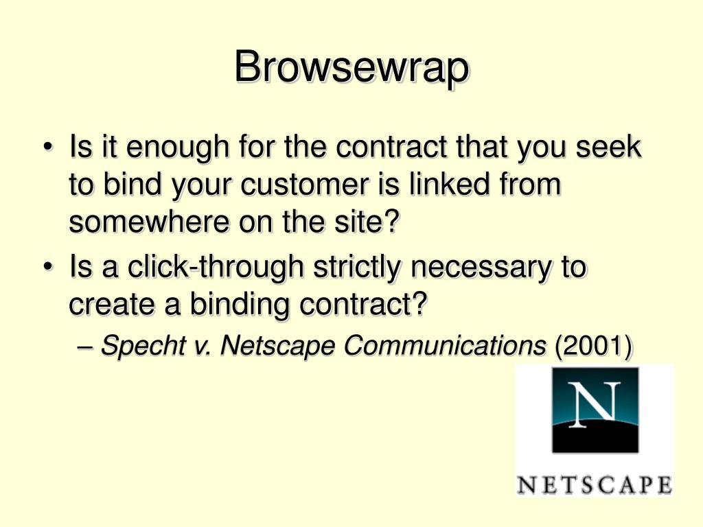 Browsewrap
