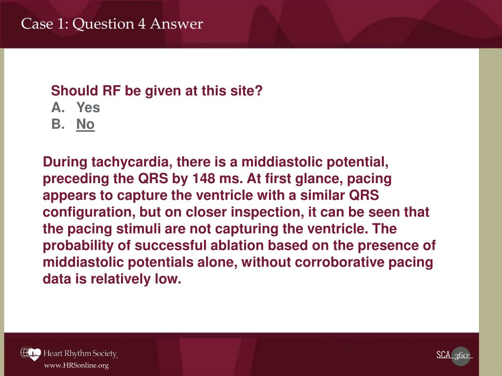 Case 1: Question 4 Answer