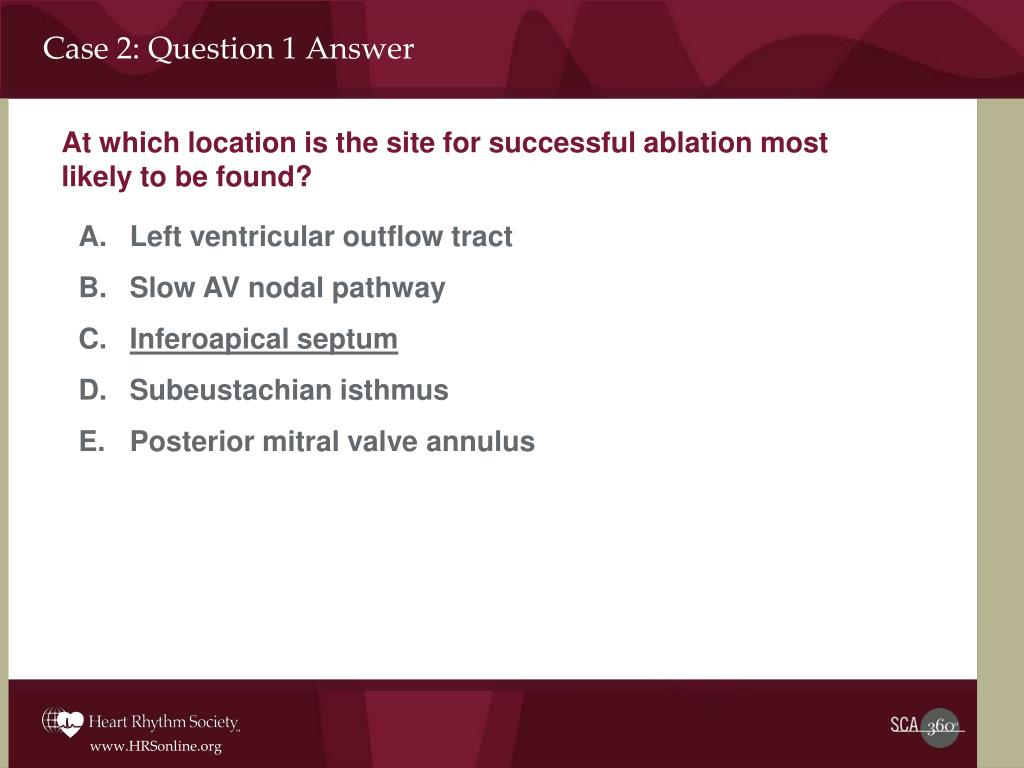 Case 2: Question 1 Answer