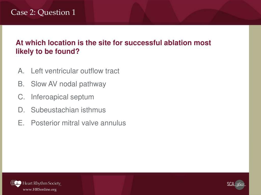 Case 2: Question 1