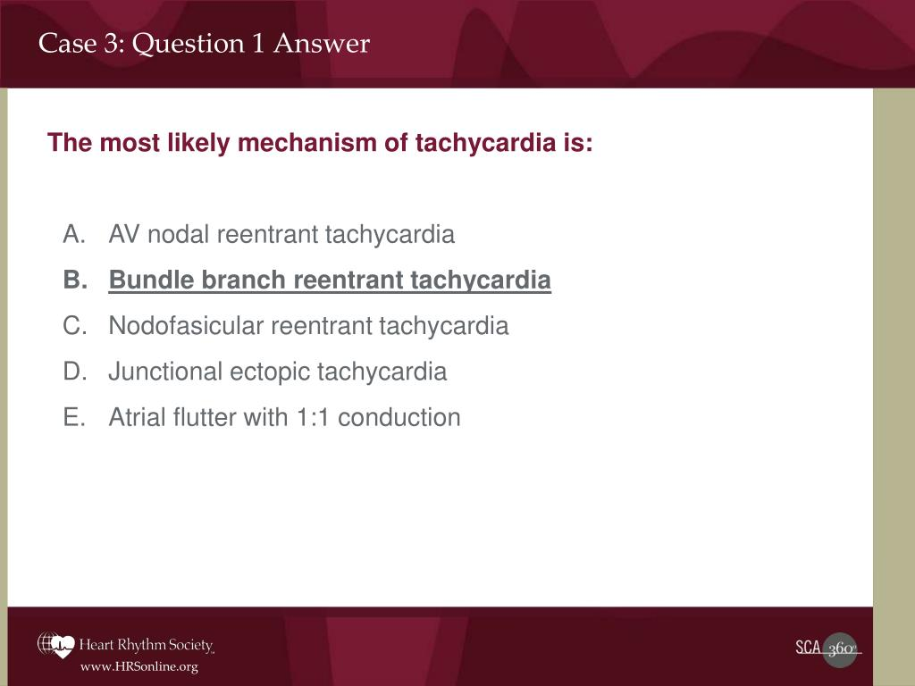 Case 3: Question 1 Answer