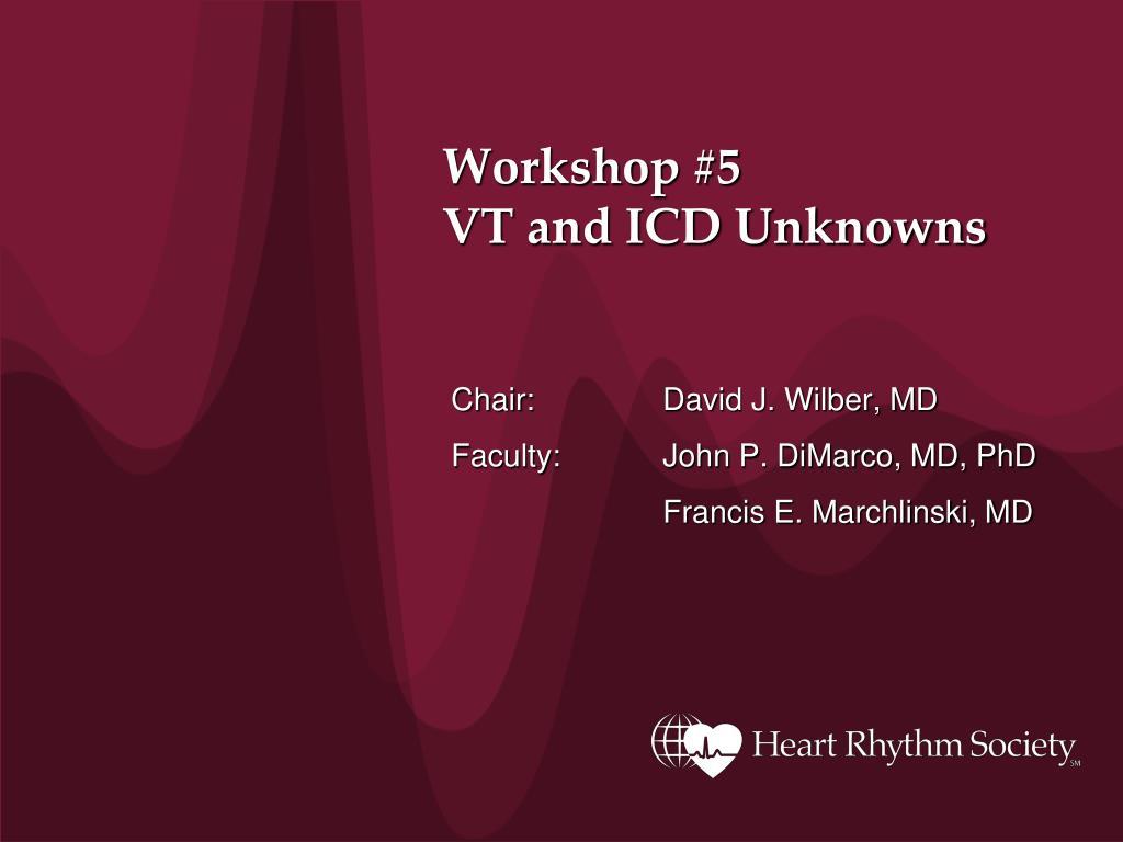 Workshop #5