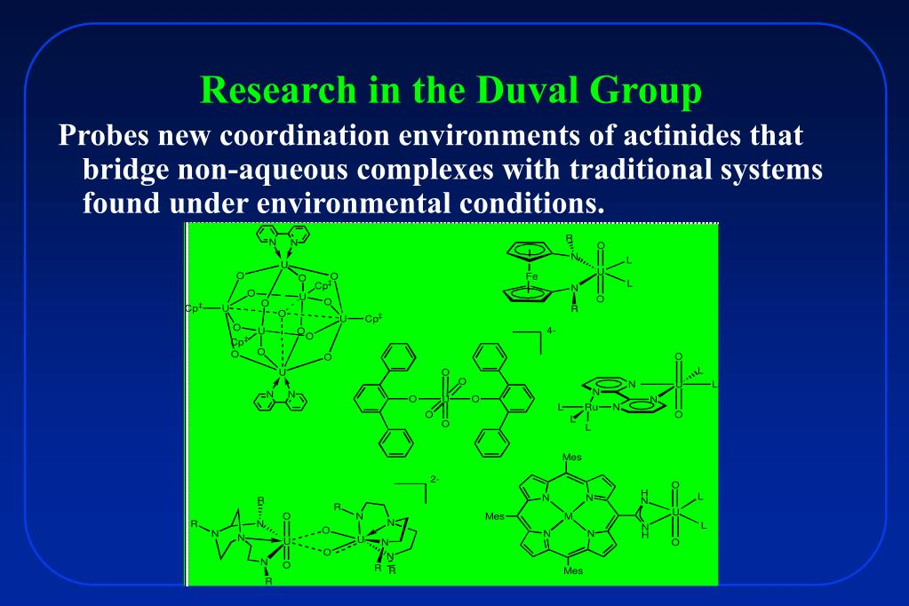 Research in the Duval Group
