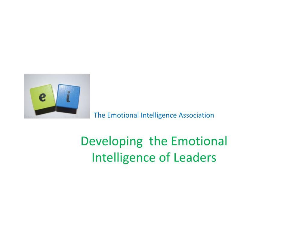 the emotional intelligence association l.