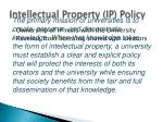 intellectual property ip policy