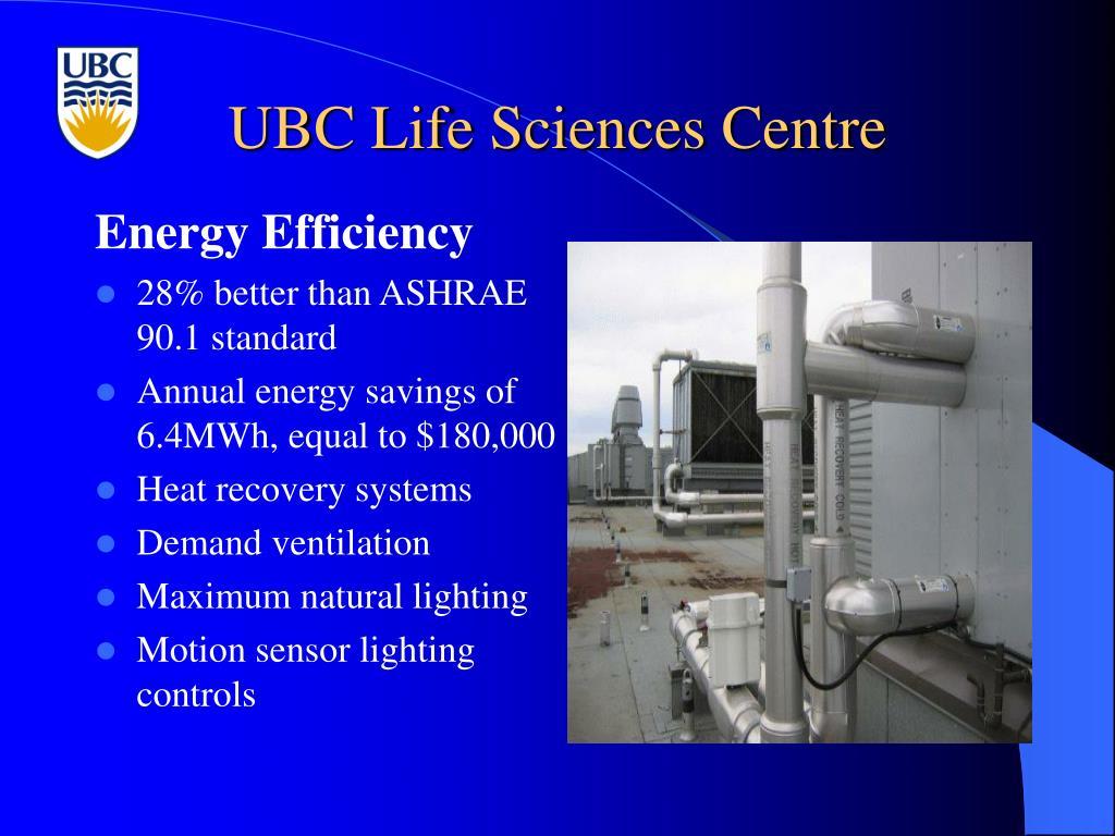 UBC Life Sciences Centre