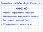 evoluzione dell oncologia pediatrica